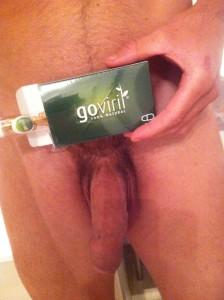 Pénis agrandi avec l'aide de Goviril